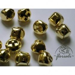 Dzwonki złote - 6 sztuk