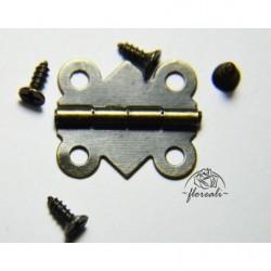 Dekor metalowy- zawias