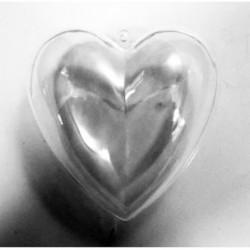 "Serce akrylowe 10"""