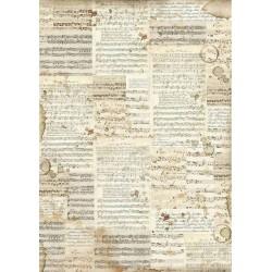 Papier ryżowy Stamperia 42...